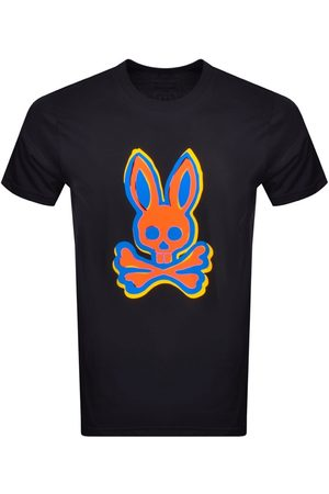Bunny Men Short Sleeve - Calder Crew Neck T Shirt Navy