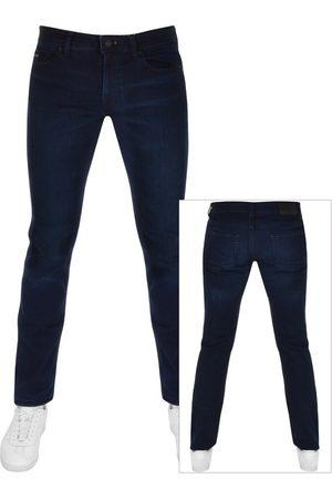 Boss Casual Men Slim - BOSS Delaware Slim Fit Jeans Navy