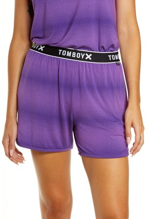 TOMBOYX Plus Size Women's Sleep Shorts