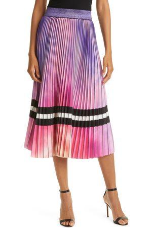 Le Superbe Women's Malibu Sky Accordion Pleated Skirt