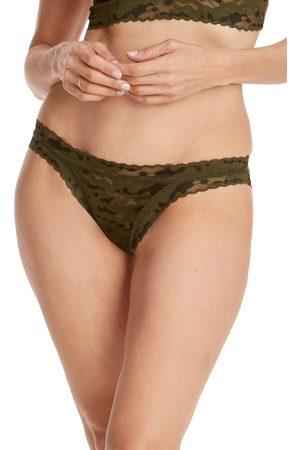Hanky Panky Women's Camo Lace Brazilian Bikini