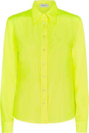 SERENA BUTE The New Serena Shirt - Neon Yellow