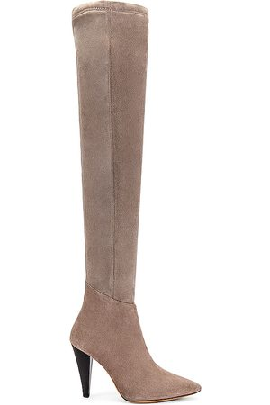 IRO Babel Boot in Taupe.