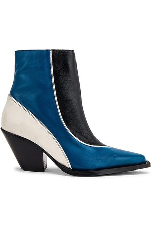 Toral Colorblock Bootie in Blue.
