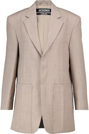 Jacquemus La Veste Sauge virgin wool blazer