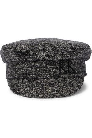 Ruslan Baginskiy Tweed baker boy cap