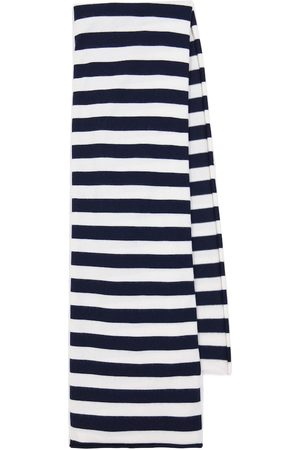 EXTREME CASHMERE Women Scarves - N° 181 Cloth striped cashmere-blend scarf