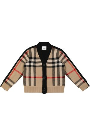 Burberry Vintage Check wool and cashmere cardigan