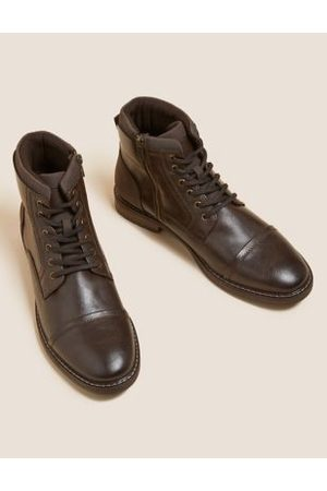 Marks & Spencer Men Casual Shoes - Side Zip Casual Boots