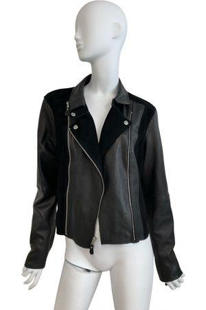 Paige Leather biker jacket