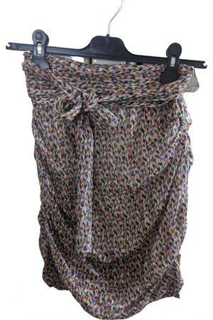 Bash Spring Summer 2020 silk mini skirt