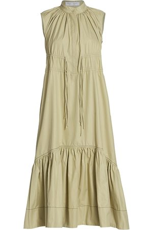 PROENZA SCHOULER WHITE LABEL Poplin Sleeveless Dress