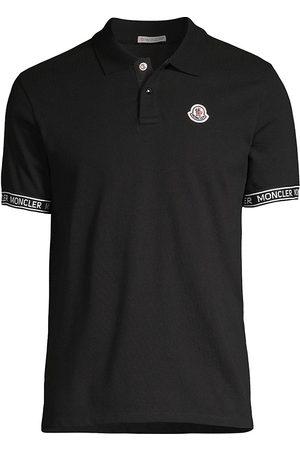 Moncler Logo-Detailed Cotton Polo