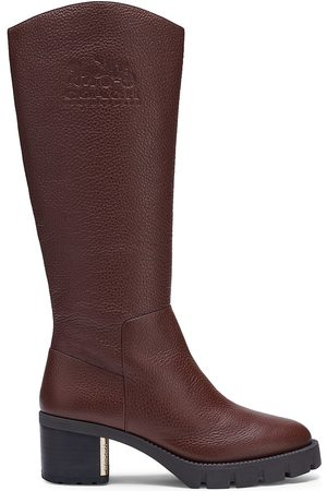 Coach Cindy Leather Knee-High Boots