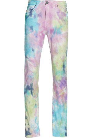 MONFR RE Brando Slim Tie-Dye Jeans