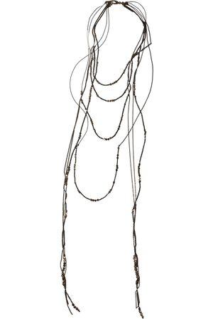 Brunello Cucinelli Silver long necklace