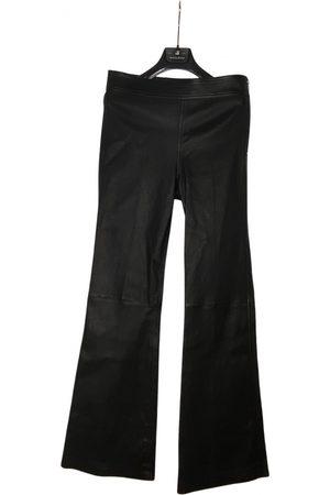 Helmut Lang Leather slim pants