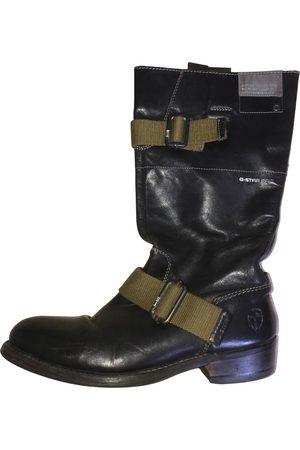 G-Star Leather biker boots