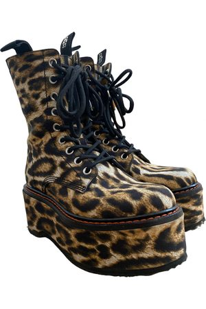R13 Leather biker boots