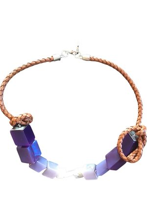 Max Mara Leather necklace