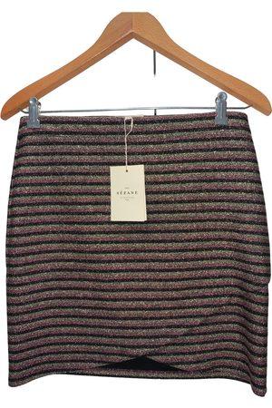 Sézane Fall Winter 2019 mini skirt