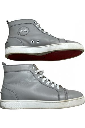 Christian Louboutin Louis leather high trainers