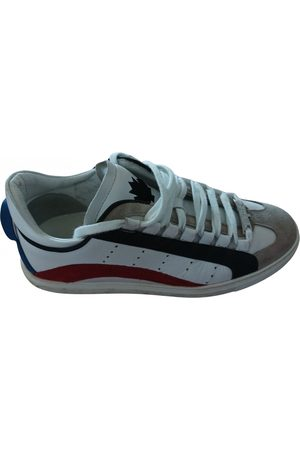 Dsquared2 551 leather low trainers