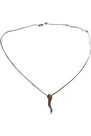 Salvini White gold necklace