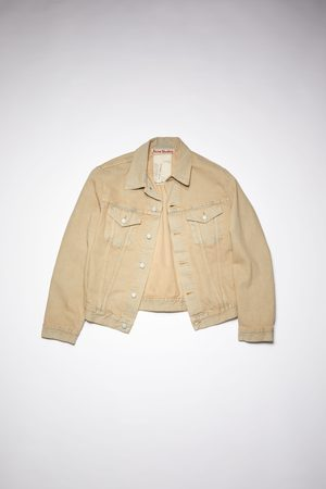 Acne Studios Men Denim Jackets - 1998 Indigo Sand Denim trucker jacket