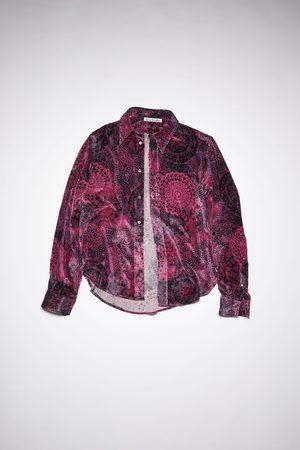 Acne Studios FN-MN-SHIR000444 /black Classic slim shirt