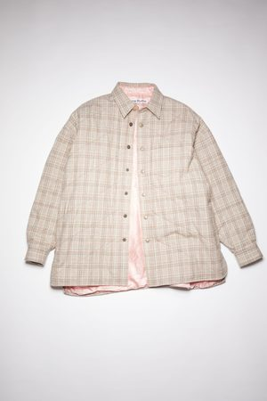 Acne Studios FN-MN-SHIR000417 /Red Padded shirt jacket