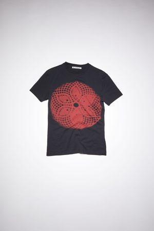 Acne Studios FN-MN-TSHI000336 Lace print t-shirt
