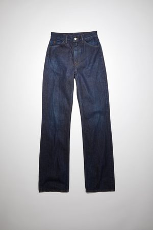 Acne Studios 1977 First Blue Bootcut fit jeans