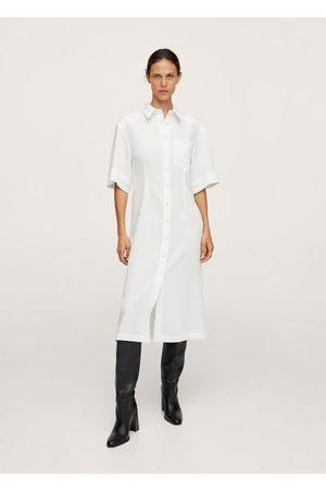 MANGO Women Casual Dresses - Midi shirt dress
