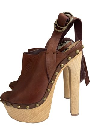 Dsquared2 Leather mules & clogs