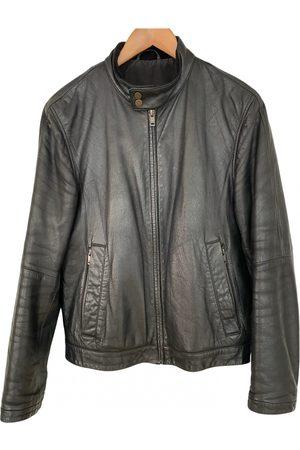 Z Zegna Leather vest
