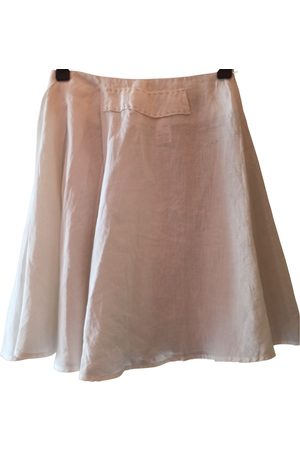 Tara Jarmon Linen mini skirt