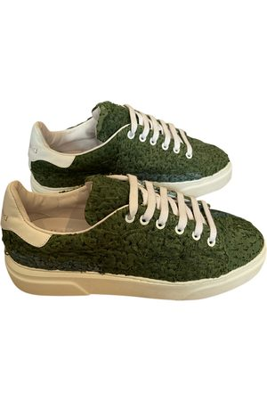BY WALID Cloth low trainers