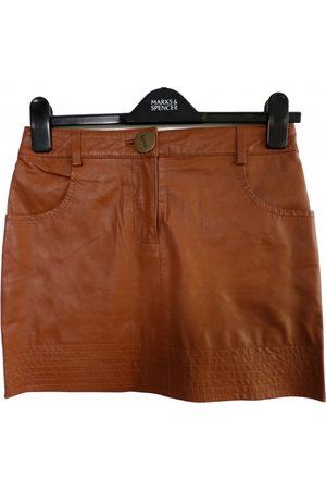 LOVER Women Mini Skirts - Leather mini skirt