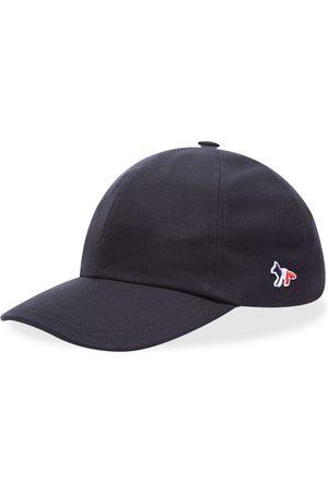 Maison Kitsuné Men Caps - Maison Kitsuné Tricolor Fox 6P Cap