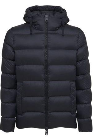 HERNO Men Bomber Jackets - Fast5degradable Nylon Down Bomber Jacket