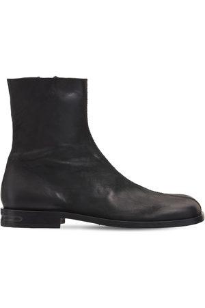 MATTIA CAPEZZANI Men Boots - Leather Bandolero Boots