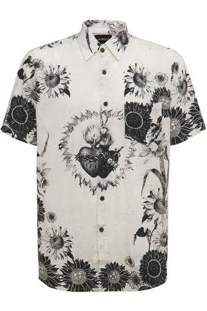 The People Vs Men Shirts - Verona Printed Mason Shirt