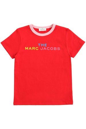 Marc Jacobs Logo Print Cotton T-shirt