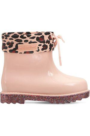 Mini Melissa Girls Rain Boots - Scented Rubber Rain Boots