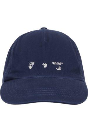 OFF-WHITE Men Caps - Logo baseball cap U