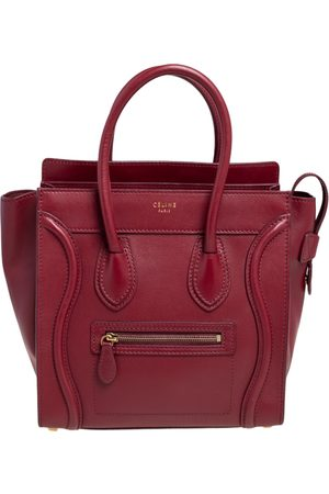 Céline Leather Micro Luggage Tote