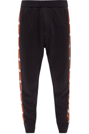 Dsquared2 Leaf-logo Jersey Track Pants - Mens
