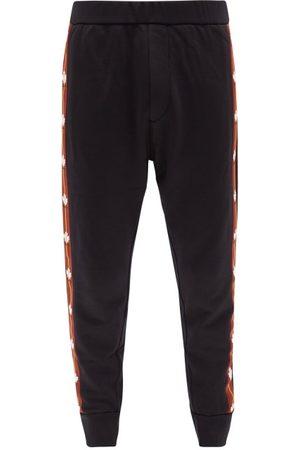 Dsquared2 Men Sweatpants - Leaf-logo Jersey Track Pants - Mens