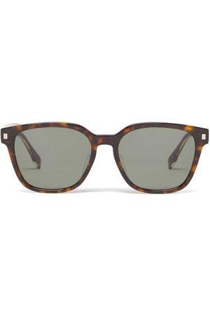 Fendi Havana Square-frame Acetate Sunglasses - Mens
